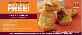 Mcdonald-Malaysia-Free-Chicken-McNuggets-Coupon-2011-EverydayOnSales-Warehouse-Sale-Promotion-Deal-Discount