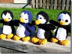 crochet yarn penguin