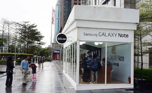 [Event] Galaxy Note台北信義誠品體驗屋造訪記實!