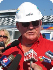 Benny Parsons Daytona Construction 2004