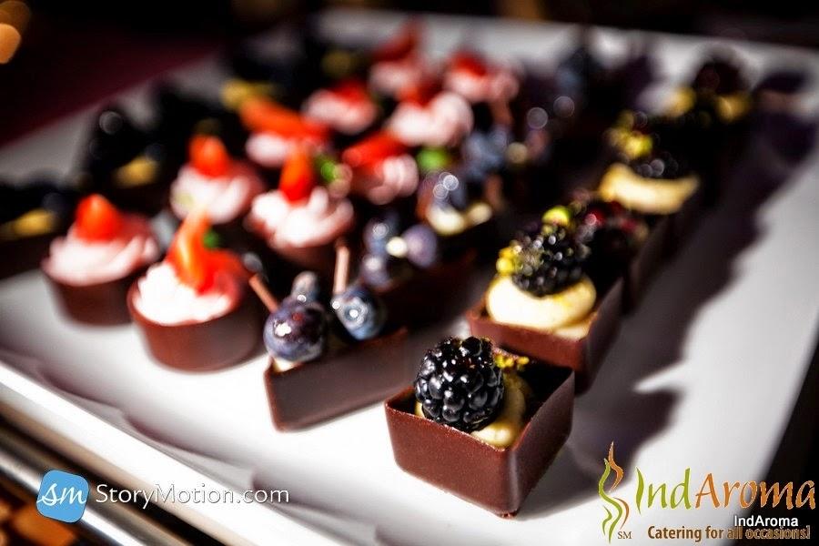 Desserts Chocolate Cups