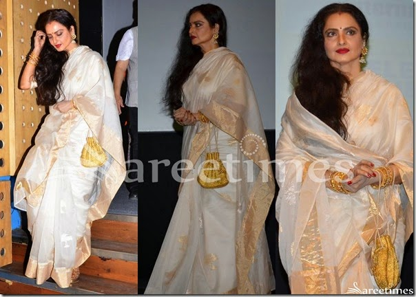 Rekha_Off_White_Bridal_Silk_Saree