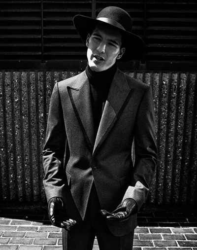Andrea Preti by Will Davidson for Bergdorf Goodman Fall 2011.  Styled by Bruce Pask
