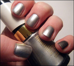 Revlon Silver Screen Nail Polish Swatch