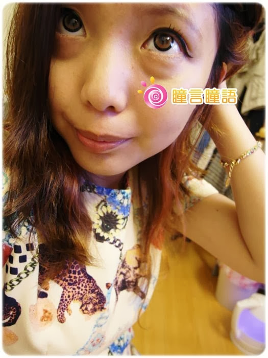 日本EOS隱形眼鏡-3D棒棒糖咖233