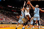 lebron james nba 130301 mia vs mem 08 LeBron Debuts Prism Xs As Miami Heat Win 13th Straight