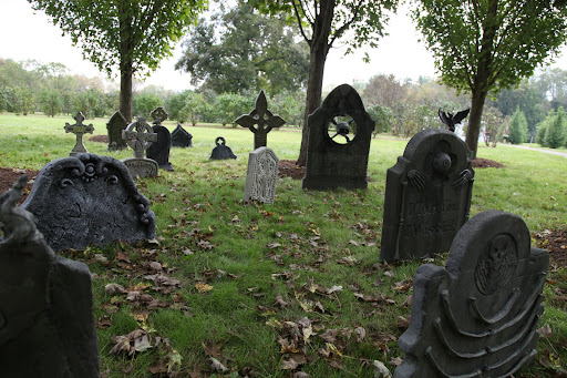 A graveyard sprouted up quite suddenly!