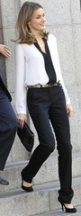 March 1 - Letizia - Attending the 'World Day for Rare Diseases' event