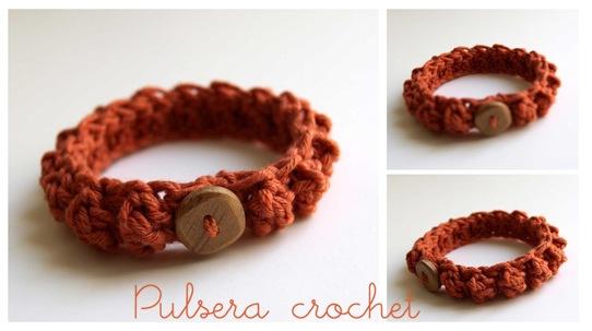 Crochet bracelet00