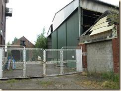 Niel-bij-Sint-Truiden: Zicht op de voormalige molen Houben vanop de Montenakenstraat