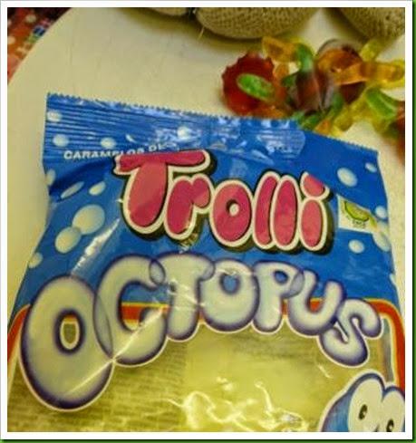 Trolli Octopus sweets