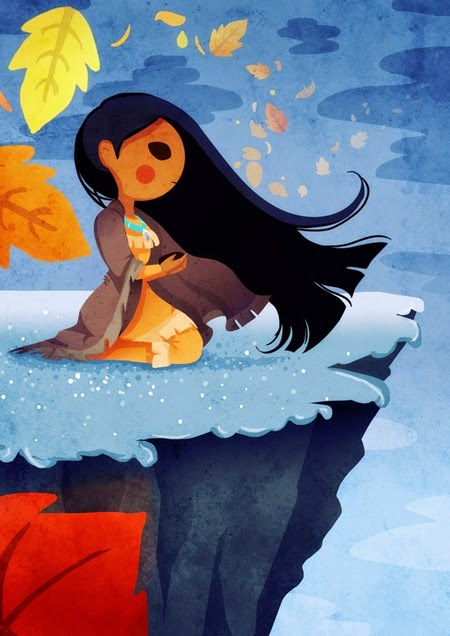 Pocahontas by Nokiramaila on deviantArt