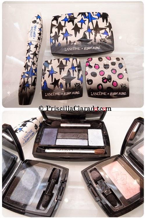 Priscilla Makeup Contest Lancome Alber Elbaz eyeshadow palette