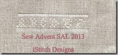 Sew Advent SAL 2013