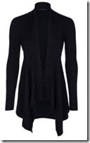 Esprit Shaped Draped Cardigan