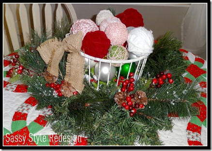 yarn ball basket
