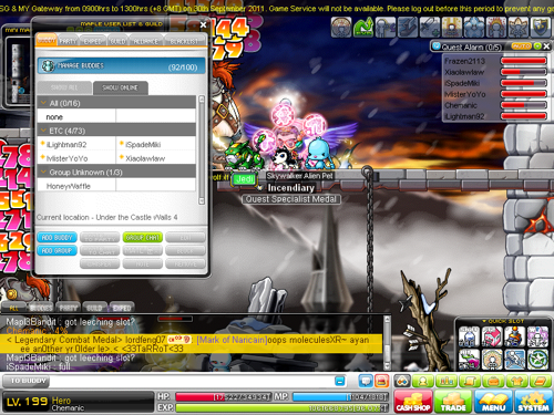 Maplestory Mercedes Leveling Guide