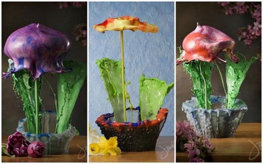 Жидкие цветы Джека Лонга
