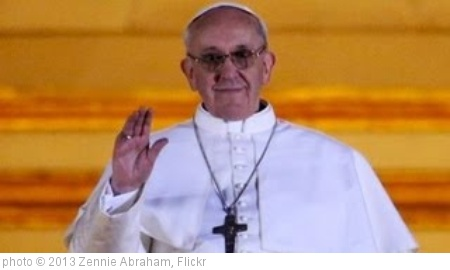 'New Pope Francis - Jorge Mario Bergoglio Of Argentina First Latino Pope' photo (c) 2013, Zennie Abraham - license: http://creativecommons.org/licenses/by-nd/2.0/