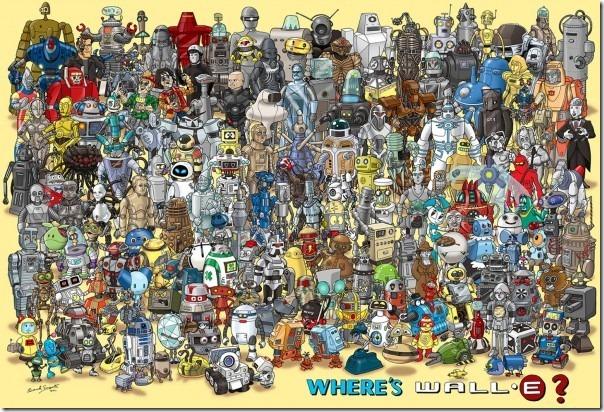 onde está o Wall-e