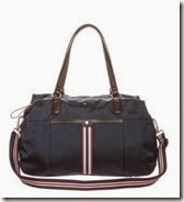 Tommy Hilfiger Navy Duffle Bag