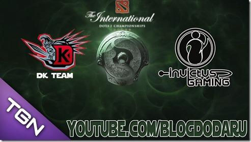 Dota 2: DK x iG - The International Championships 2013 - IT3