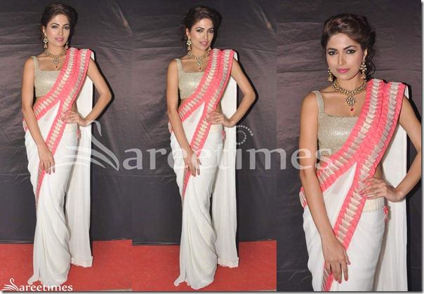 Parvathy_Omankuttan_White_Drape_Saree(1)