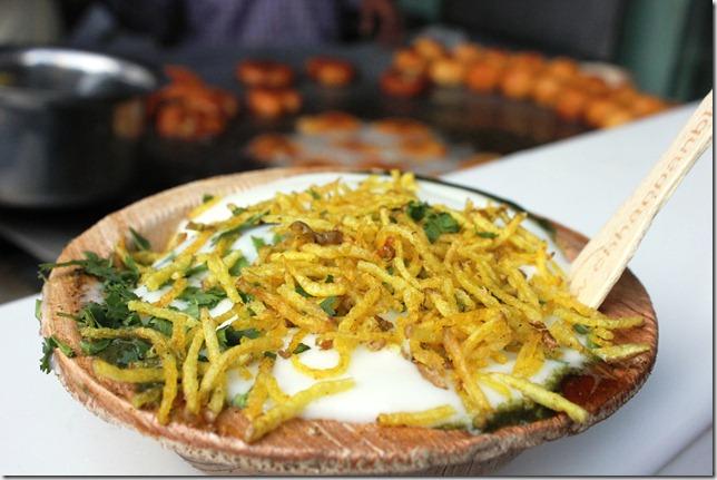 Alu tikki chaat Chhappan Bhog