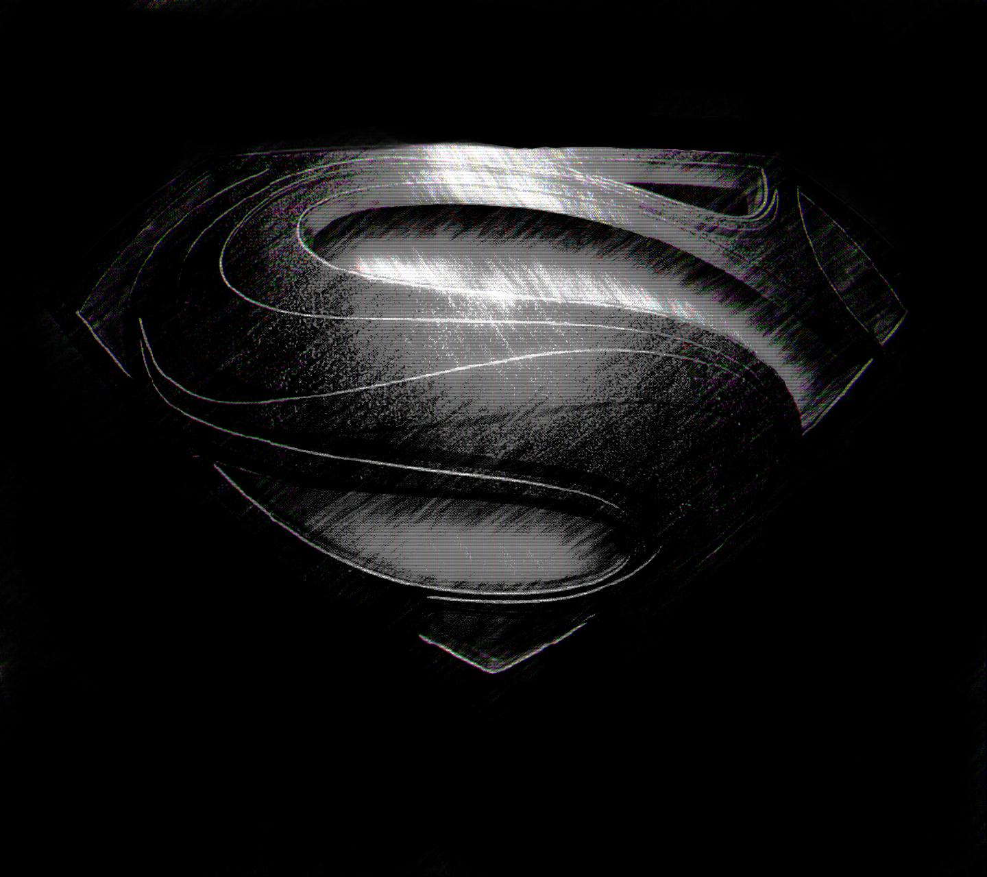 Cant Wait To See The New Superman Movie Man Of Steel Heres A Nice Dark Variation Logo I Made For Use As An Android Wallpaper