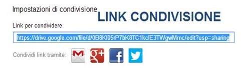 link-condivisione
