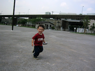 Eidan at the World City Tower's park