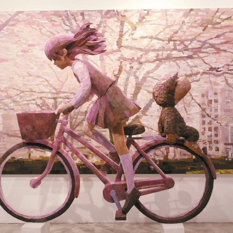 Eye-Popping Sculpture-Paintings by Shintaro Ohata