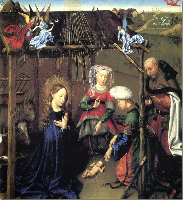 Jacques Daret, Adoration des Mages1435