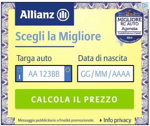 polizza auto allianz