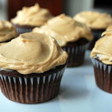 Barefoot Contessa's Chocolate Cupcakes and Peanut Butter Icing