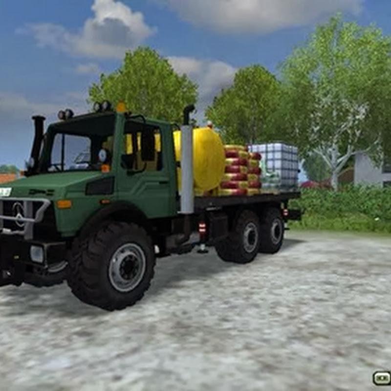 Farming simulator 2013 - 2450 Unimog 6x6 v 2.1