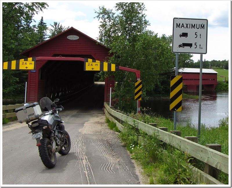 DS Aventure Quebec - Pont couvert