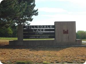 Hillsdale Lake Corps of Engineers