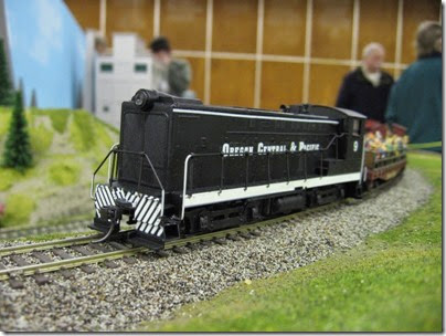 IMG_0158 OCP S12 #9 on the LK&R Layout at the Great Train Expo in Portland, Oregon on February 16, 2008