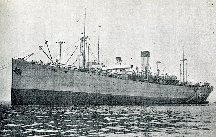 Vapor RAMON MUMBRU. Foto de la revista CATALUNYA MARITIMA. Año 1919.JPG