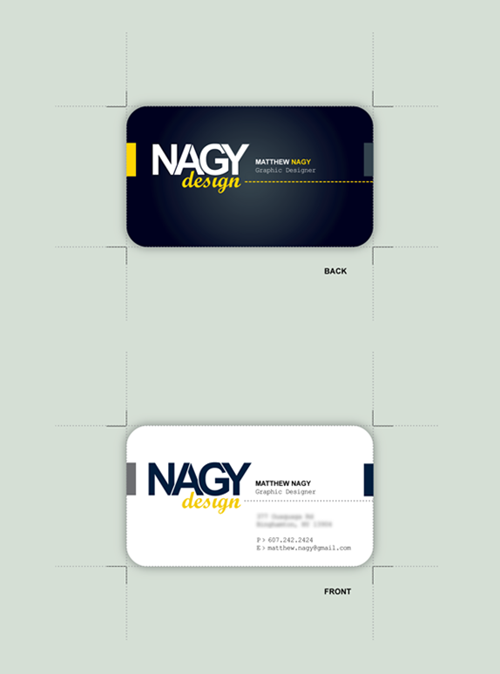 small sompany business card