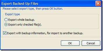 iBackupBot for iTunes esportare file da backup iPhone
