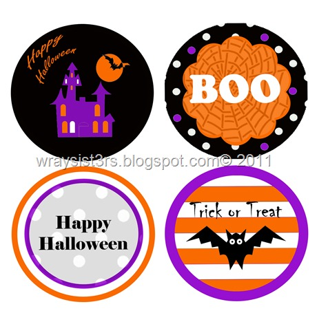 halloween cake toppers2011