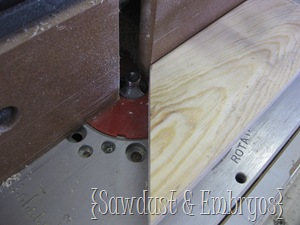 Building a Crown Molding Shelf {Sawdust and Embryos}