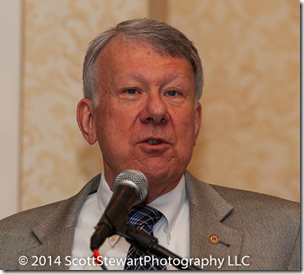 Thomas Jones addresses the 2014 National Genealogical Society conference