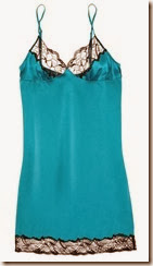 Stella McCartney Stretch Silk and Lace Chemise