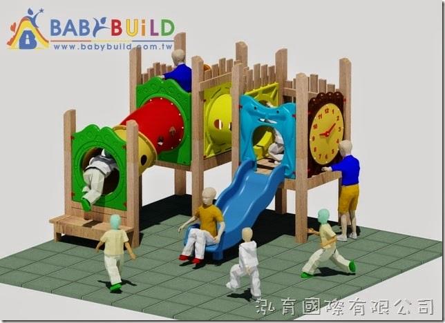 BabyBuild 加拿大檜木木製遊具