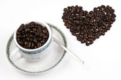 Love Shape Coffee Bean