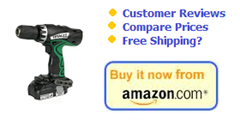 Order the Hitachi DV18DCL 18V Li-Ion Hammer Drill