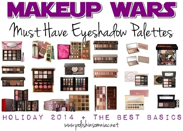 Makeup Wars - polish insomniac's Must Have Eyeshadow Palettes